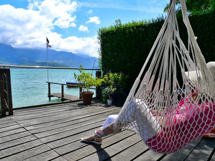 Lac d Annecy - Farniente dans le hamac