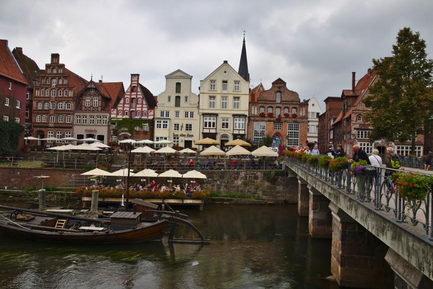 Marche aux poissons Lunebourg - Stintmarkt