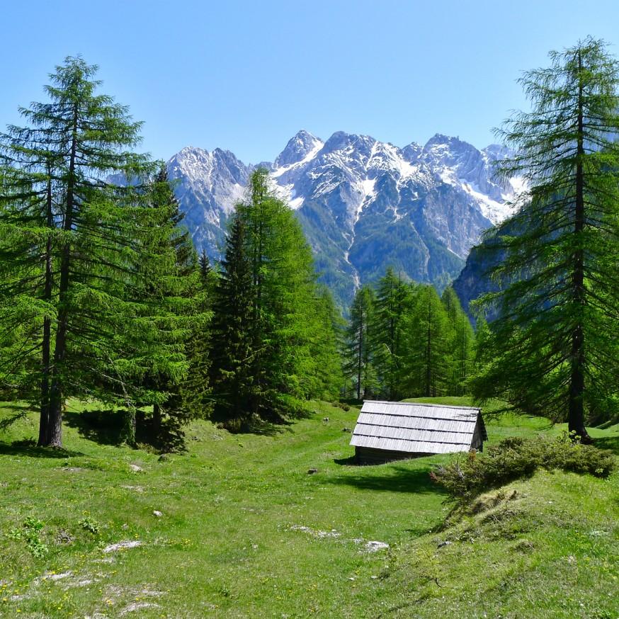 Alpages - Col de Vrsic - Slovenie