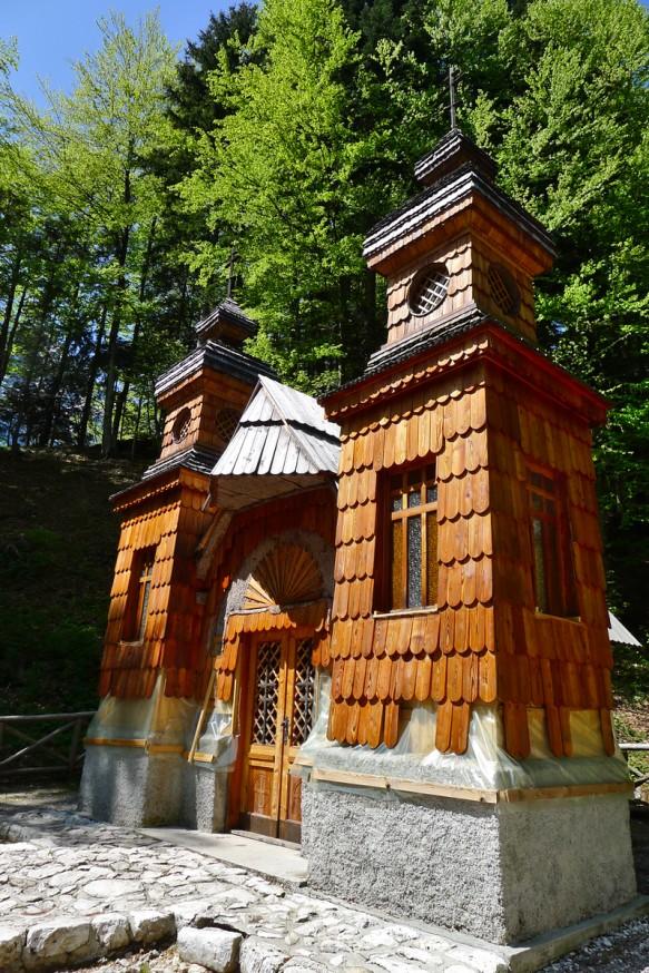 Chapelle russe - Col de Vrsic - Slovenie