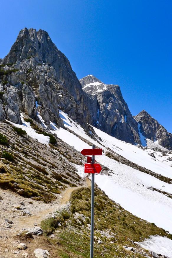 Col de Vrsic - Randonnee Sleme - Slovenie - 1