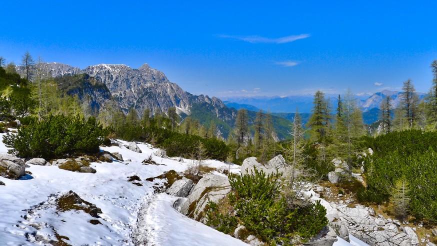 Col de Vrsic - Randonnee Sleme - Slovenie - 2
