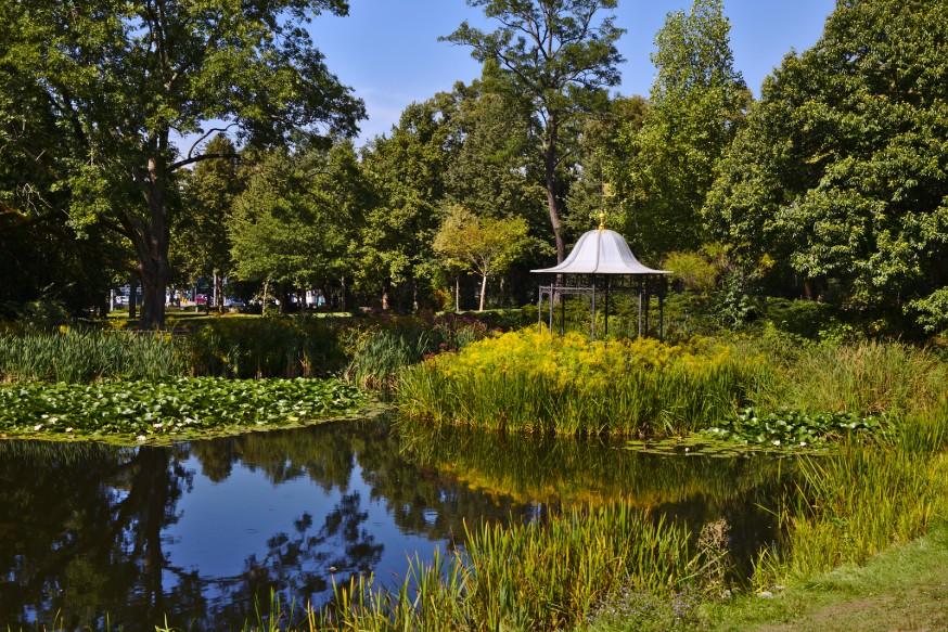 Prinz-Emil-Garten - Darmstadt Bessungen