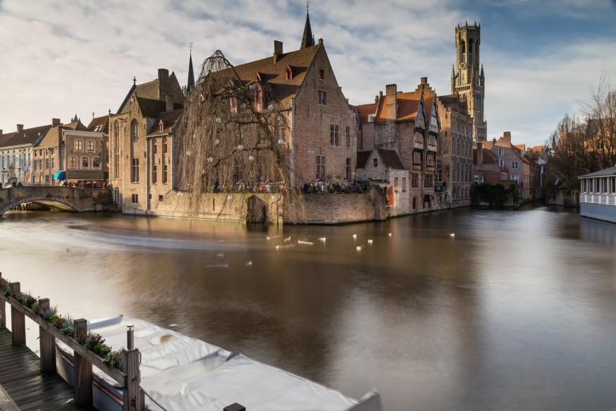 Bruges - Canaux - Rozenhoedkaai