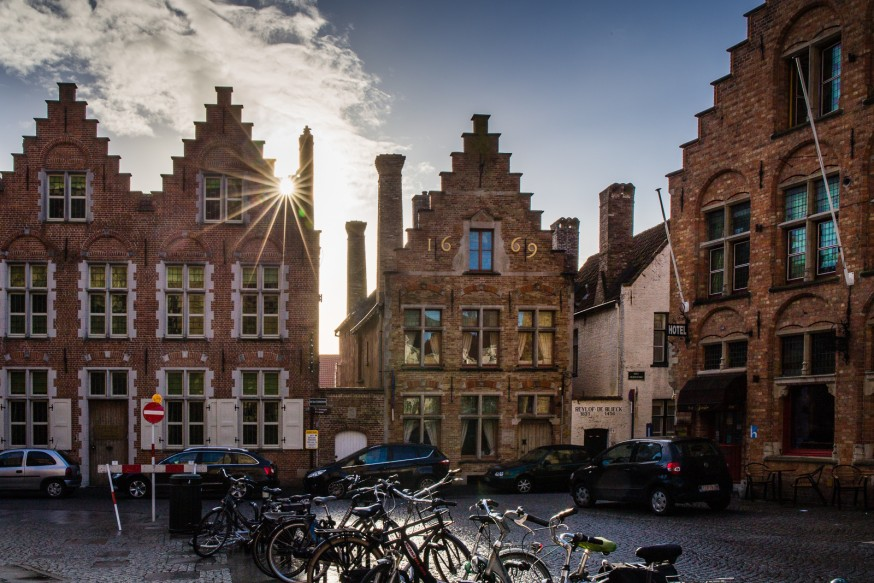 Bruges - Maisons flamandes