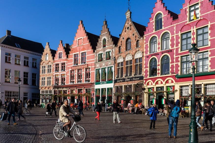 Bruges - Place du Marché