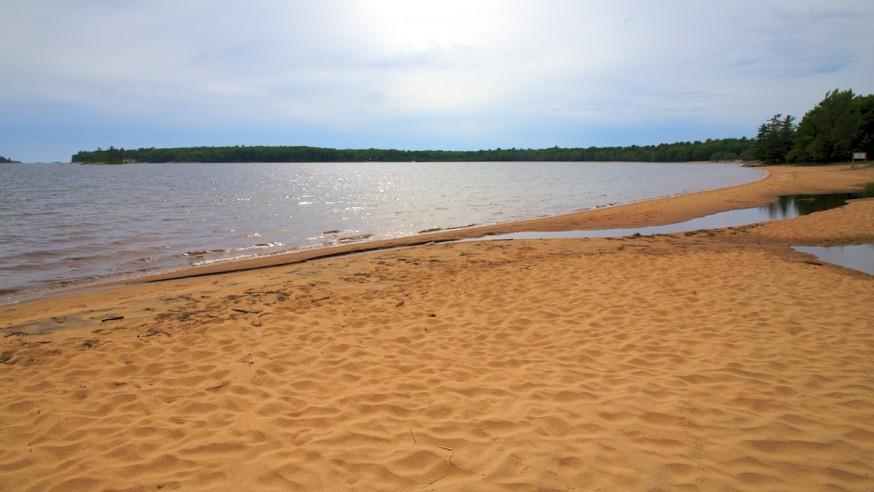 Plage du lac Huron - Killbear Provincial Park