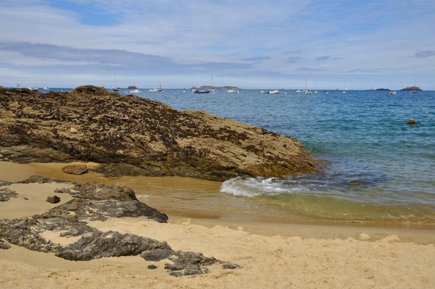 Sur la plage - Saint-Lunaire